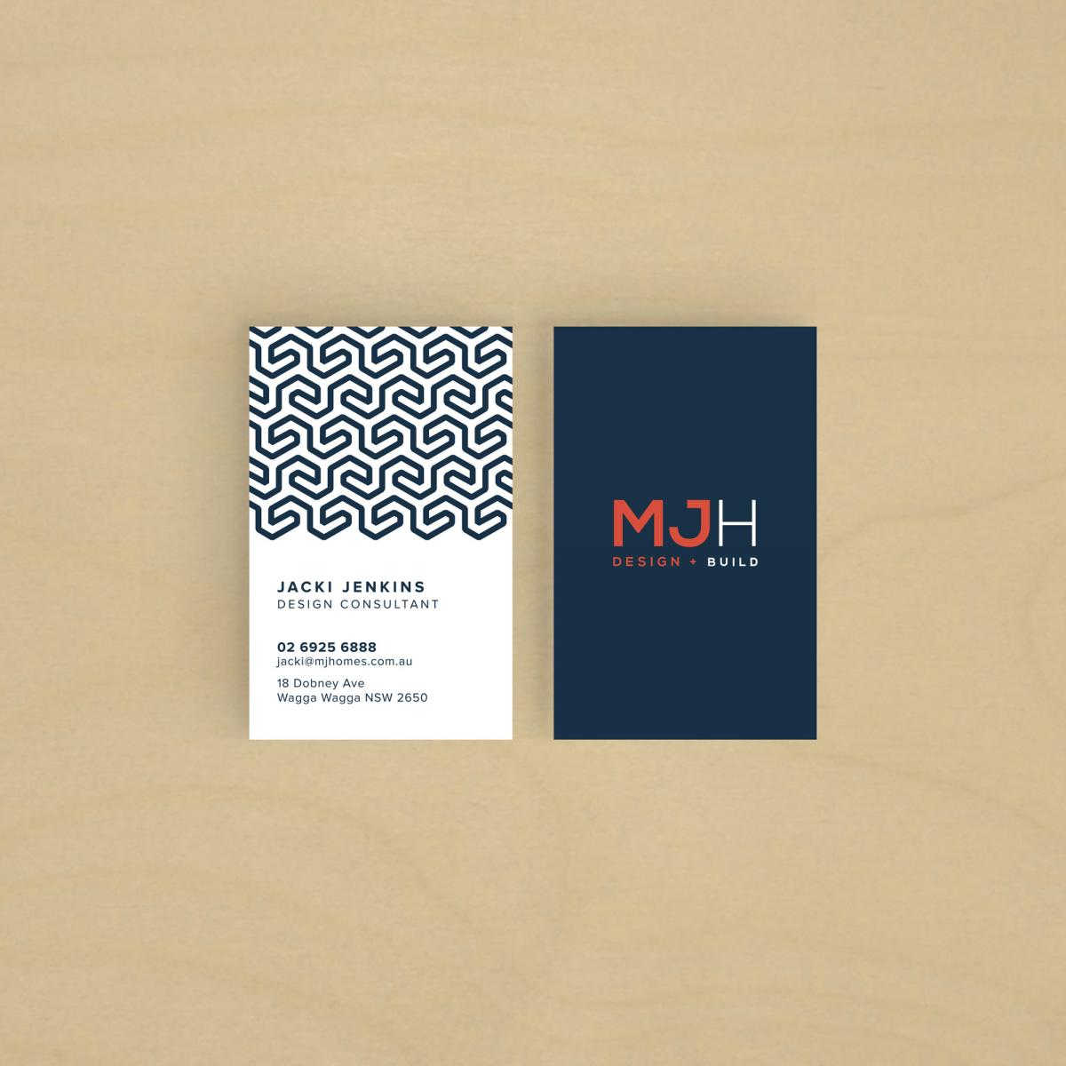 Matt Jenkins – Business cards wagga